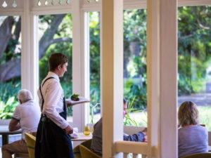 Excellent service at Botanic Gardens Restaurant in Adelaide.
